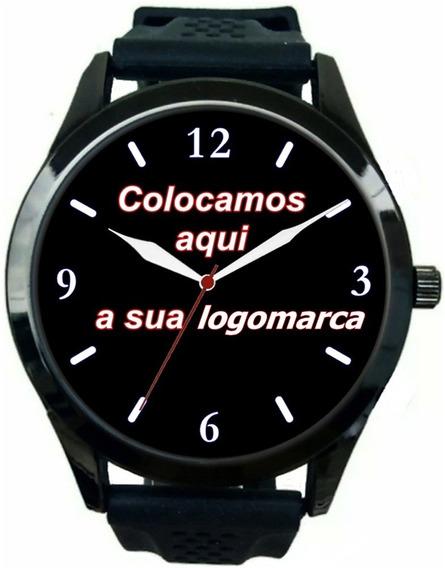 Kit 10 Relógios Pulso Personalizado Foto Logo Empresa Barato