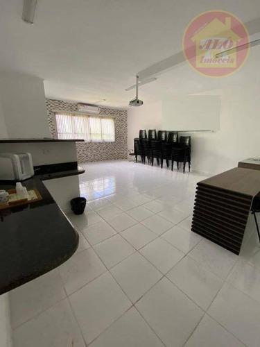 Sala À Venda, 57 M² Por R$ 140.000,00 - Ocian - Praia Grande/sp - Sa0046