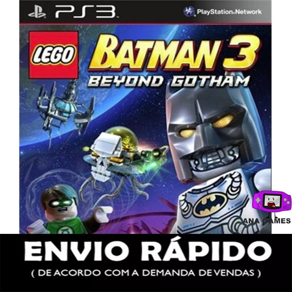 Lego Batman 3 Beyond Gotham Ps3 - Jogo Digital