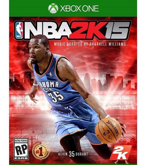 Nba 2k15 Xbox One Mídia Física Novo Lacrado