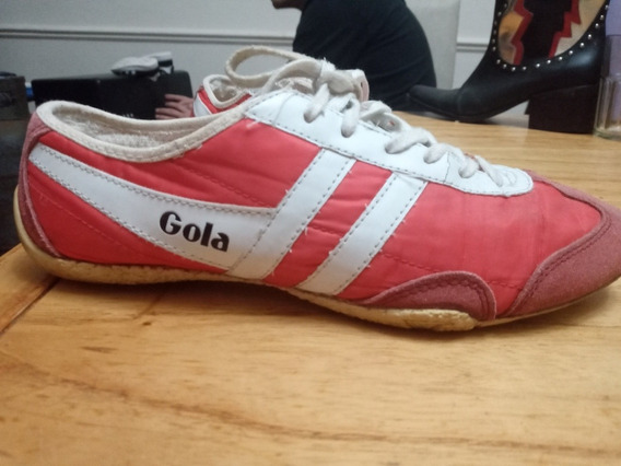 Zapatillas Gola Originales, Buen Estado. Numero 41. Rojas.