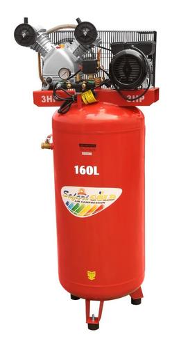 Compresora De Aire 160l Roja 220v 3.0hp Vd65-160l Rd