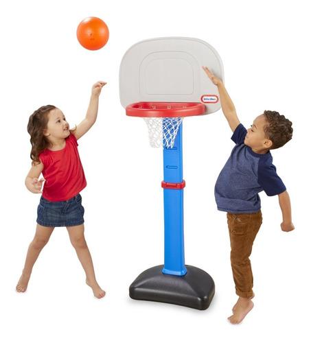Canasta Little Tikes Easy Score Basketball Para Niños