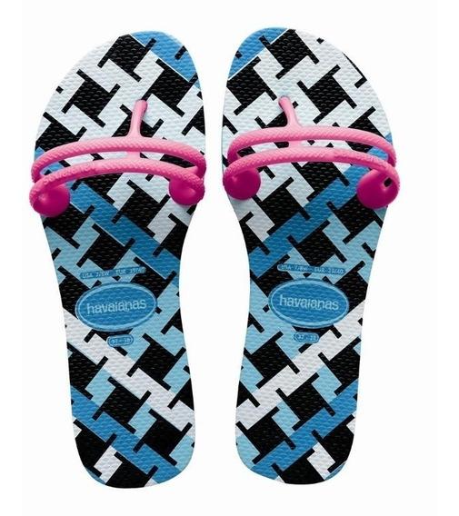 Zonazero Havaianas Ojotas Flat Gum Fashion Mujer Originales