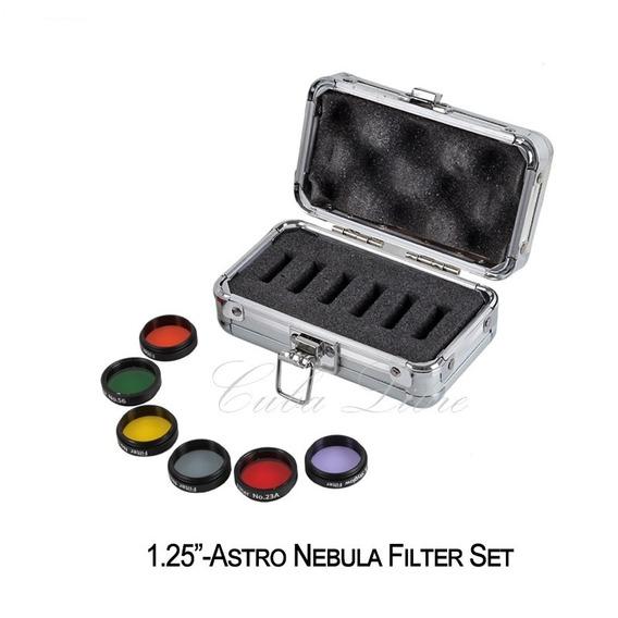 Filtros Datyson P/ Oculares 1,25 Jg De 6 C/ Estojo