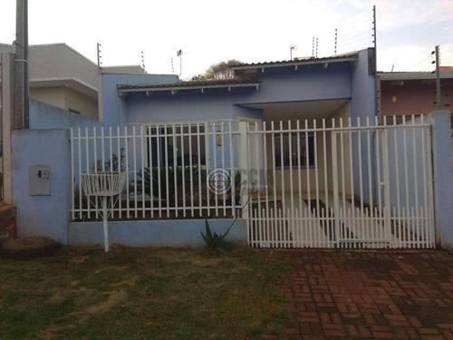 Casa À Venda Por R$ 250.000,00 - Jardim Alice Ii - Foz Do Iguaçu/pr - Ca0518