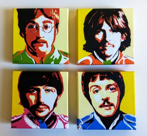 Imagem 1 de 7 de Quadros Para Sala Ou Quarto - Beatles