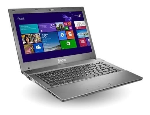 Laptop Síragon Nb-3300 14 2020m 4gb 500d W8 Sin Batería