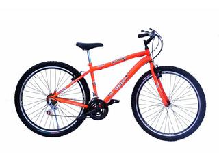 Bicicleta Aro 29 Onix Mtb 18m Com Aro Aero Cor Laranja Neon
