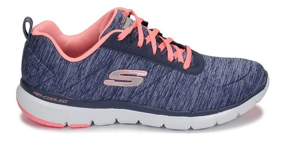 Skechers Flex Appeal 3.0 Navy/coral