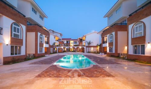 Apartamento En 1er Nivel En Venta En Punta Cana Wpa94 A