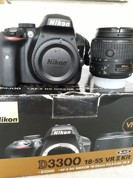 Nikon D3300 24.2 Megapixels - Menos De 9k Clicks
