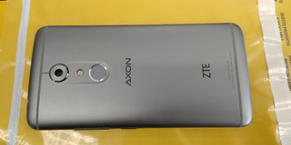Zte Axon 7 A2017u Tapa De Batería Original Color Plata