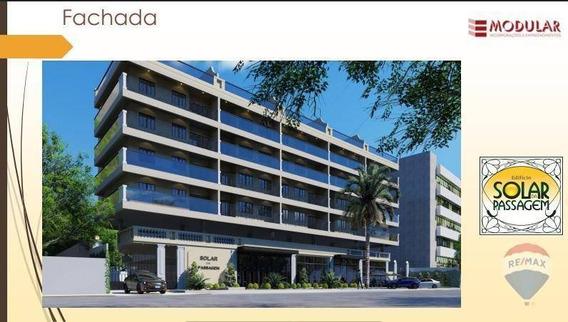 Apartamento Com 2 Dormitórios À Venda, 76 M² A Partir De R$ 477.750,00 - Passagem - Cabo Frio/rj - Ap0414
