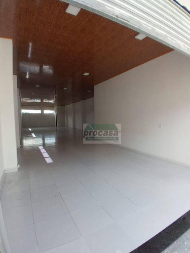 Imagem 1 de 8 de Excelente Ponto Comercial Para Alugar, 168 M² Por R$ 5.000/mês - Cachoeirinha - Manaus/am - Pt0318