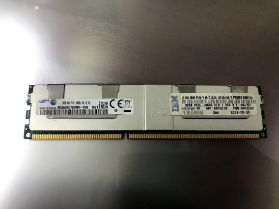 Ddr3 32gb Bajo Voltaje Rdimm Ecc 1.35v Servidor Hp - Ibm - Dell