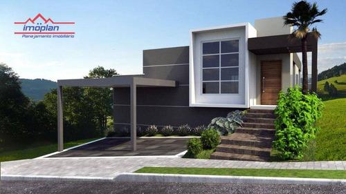 Casa Com 3 Dormitórios À Venda, 160 M² Por R$ 890.000,00 - Buona Vita - Atibaia/sp - Ca4753