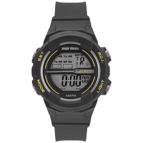 Relógio Mormaii Masculino Ref: Mo0201/8a Digital Infantil