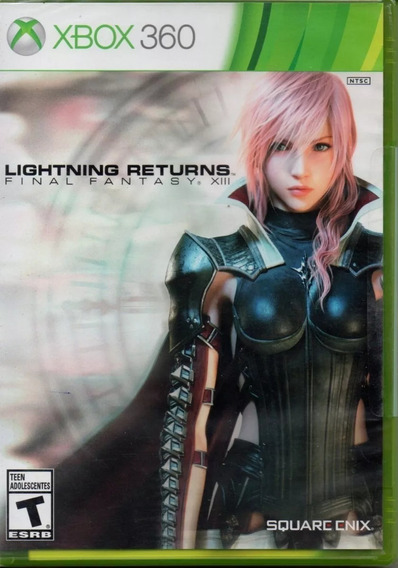 Final Fantasy Xiii - Lightning Returns - Xbox 360 Mídia Físi