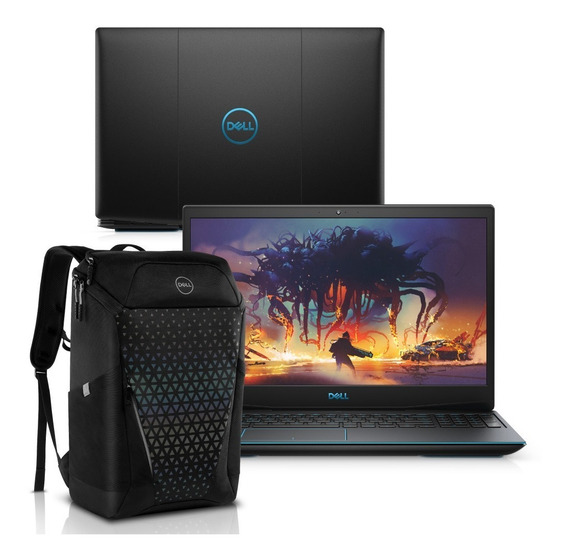 Notebook Gamer Dell G3 3590 Core I5 8gb Ssd Gtx 1050 Mochila