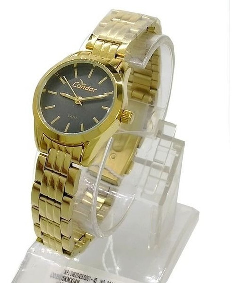 Relógio Condor Dourado Feminino Mini 25mm Co2035kmx/4v Wr50m