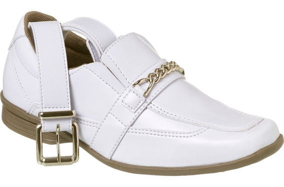Sapato Social Com Cinto Infantil Menino Redmax A/b928-001