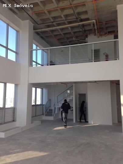 Sala Comercial Para Locação Em Mogi Das Cruzes, Vila Mogilar, 2 Banheiros, 1 Vaga - 800