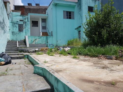 Terreno De 267 M² Com Frente De 10 M² Com Casa Antiga, 950 M Da Paroquia São João Clímaco - Bi23695