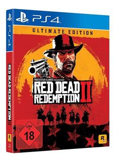 Red Dead Redemption 2 Juego Físico / Ps4