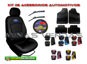 Promoção Super Kit Capa De Banco De Courvin Couro Fiesta