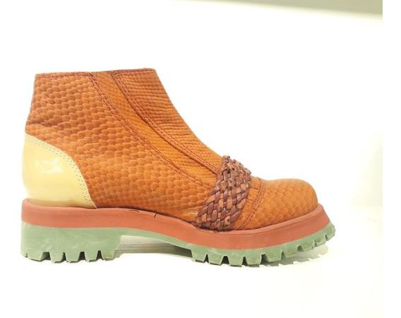Botas Mujer Coral Rauch Combinadas Diseño