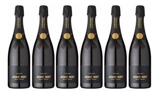 Champagne Jasmin Monet Black X Caja 6unid.