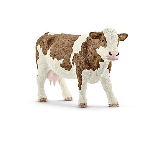 Schleich Fleckvieh vaca 13641 granja Nuevo