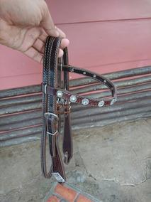 Cabeçada P/ Cavalo Alto Luxo Três Tambores Country