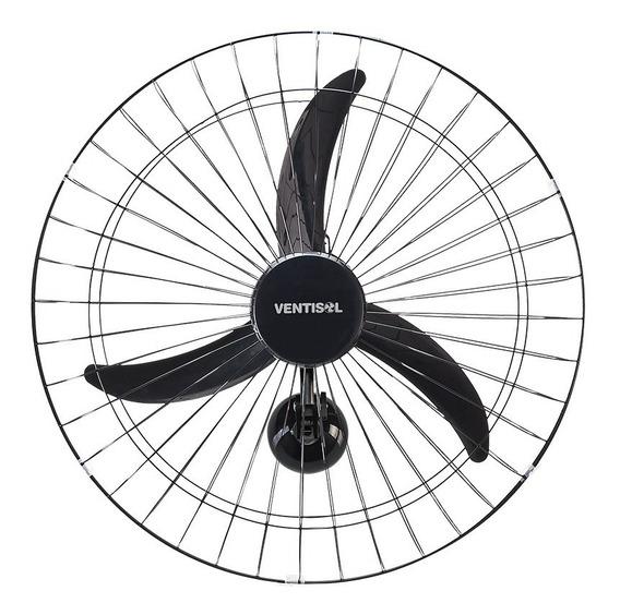 Ventilador Osc Parede 60cm New Preto 127v Premium Ventisol