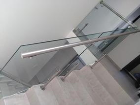 Fabricacion De Barandales De Acero Inox Y Cristal Templado