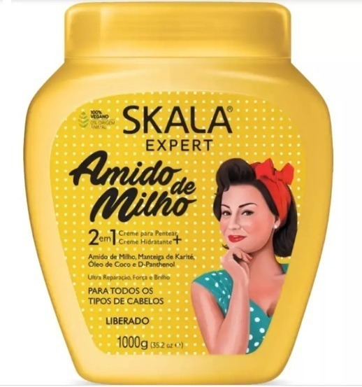 Crema Skala Expert Amido De Milho 2en1