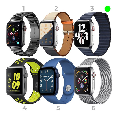 Correas Apple Watch 38mm 40mm 42mm 44mm Factura