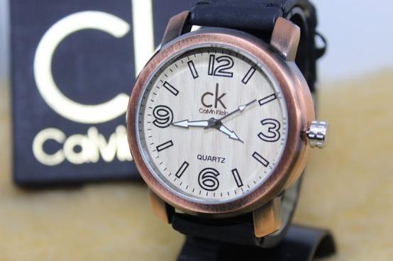 Relógio Masculino Calvin Klein Madeira Promoção