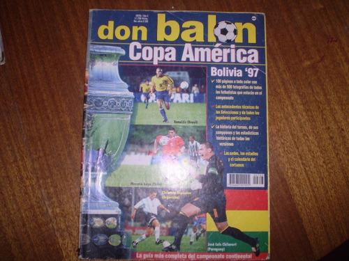 Revista  Don Balon Extra Copa America 1997 (525