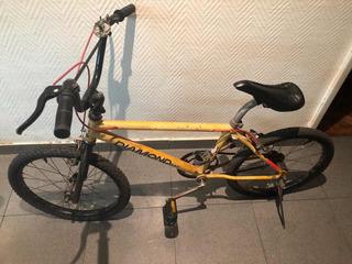 Bicicleta De Varón Diamond Bike Amarilla