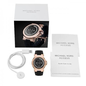 Relogio Michael Kors Mkt5010 Rose Preto