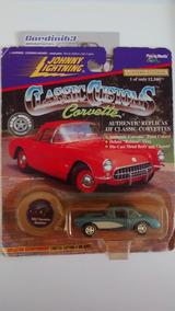 Johnny Lightning 1957 Corvette Roadster - Classic Customs
