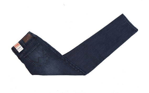 Jeans Hombre Wrangler Oscuro Slim Fit Dkl Índigo