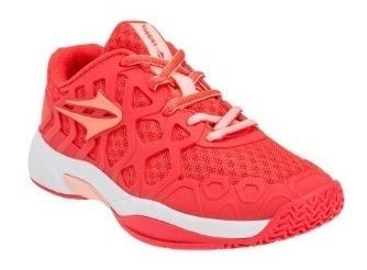 Zapatillas De Tenis Topper Glow V Kids Coral 25 Al 34 48268