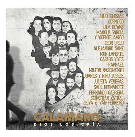 Imagen 1 de 1 de Andres Calamaro Dios Los Cria Duetos Vinilo Doble Nuevo 2021