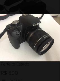 Câmera Canon Eos Rebel T1i Perfeito Estado