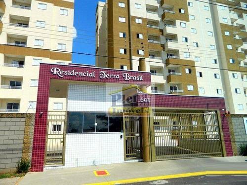Imagem 1 de 9 de Apartamento À Venda Com 69 M² - Jardim Marajoara - Nova Odessa/sp - Ap0614