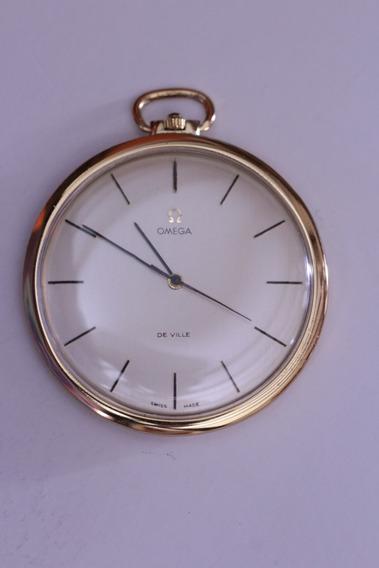 Reloj Omega De Bolsillo Extraplano