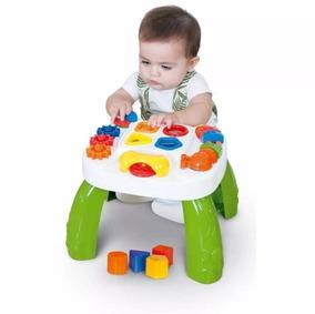 Mesa Pedagógica Educativa Play Time Cotiplas Bebes Meninos
